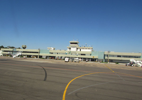 Aeroporto de Foz, com mais voos (Foto Panorama do Turismo)