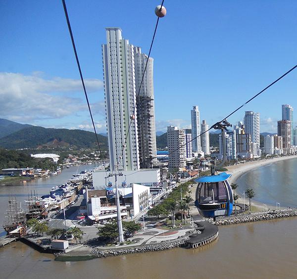Bondinho, atração imperdível (Foto Panorama do Turismo)