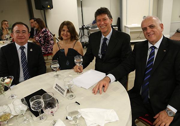 Manoel Linhares, Chirlei Camargo, Luciano e Dilson Fonseca (Foto Divulgação | SIHGO)