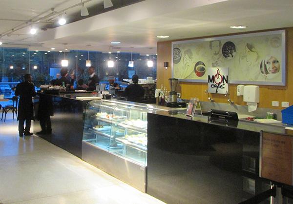 Café do MON, bem concorrido (Foto Panorama do Turismo)