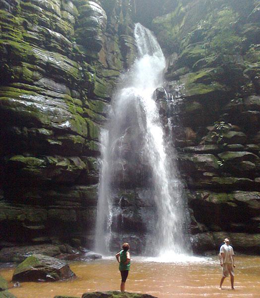 Buraco do Padre, em Ponta Grossa (Foto Panorama do Turismo)