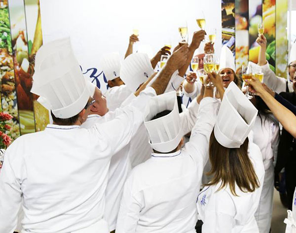 Chefs, em momento de descontração (Foto Divulgação | Grampo Comunicação)
