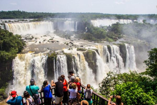 Foz do Iguaçu, uma das maravilhas do mundo.