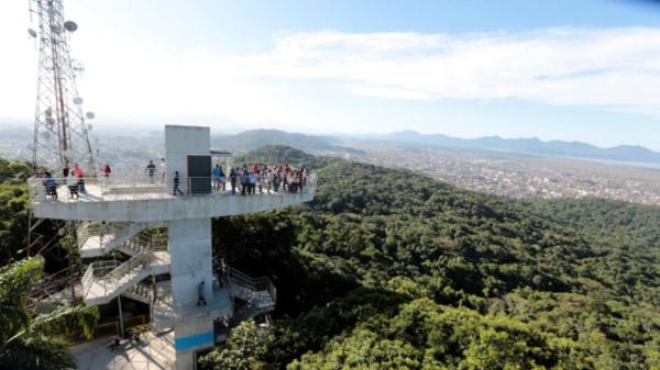 O novo Mirante é um dos locais mais visitados