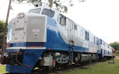 Em Curitiba, locomotiva é nova atração