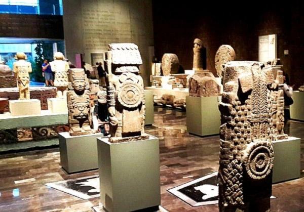 É necessário pelo menos um dia para conhecer as preciosidades históricas do Museu Nacional de Antropologia na cidade de México