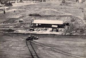 Foto do acervo histórico do terminal