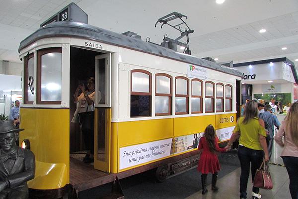 O bonde português (Foto Panorama do Turismo)
