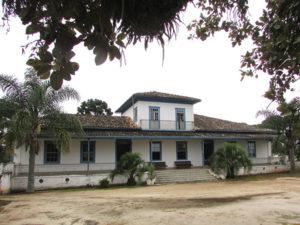 Sede da Fazenda Capão Alto