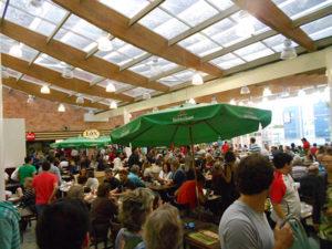 Praça de alimentação do Mercado Municipal