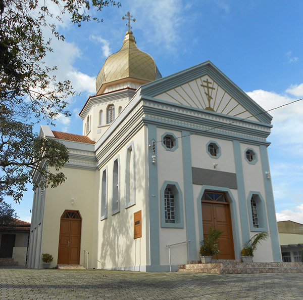 Igreja ucraniana em Curitiba