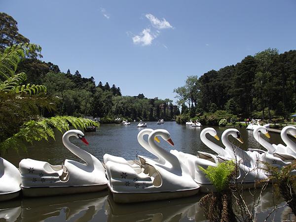 Lago Negro de Gramado, pano de fundo para o Festuris (Foto Panorama do Turismo)