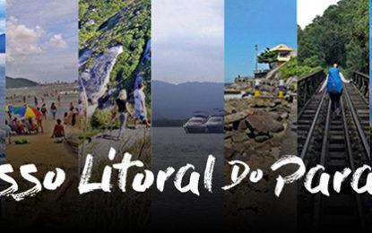 Litoral do Paraná na ponta dos dedos