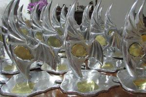 O prêmio ganhou tradução em obra do escultor Luiz Gagliastri