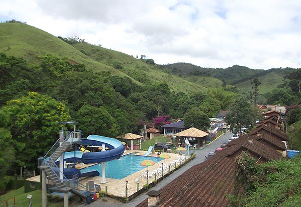 Vista parcial da pousada (Foto Panorama do Turismo)