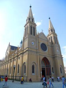 Catedral, no coração da cidade