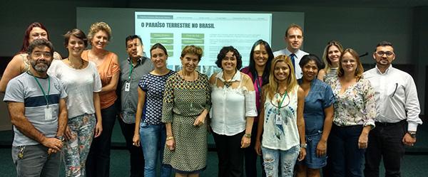 Lideranças dos Campos Gerais, no lançamento do site (Foto Divulgação | PGRCVB)