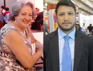 Rosi e Adonai, comandarão assembleias nesse mês (Fotos André Kopach e Panorama do Turismo)