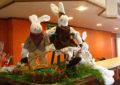 Hotel pronto para feriado de Páscoa