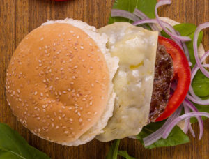Hambúrguer vegetariano (Foto Guto Souza)