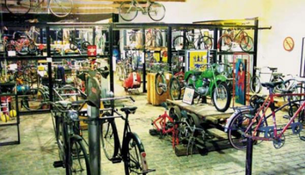 Coluna Volta ao Mundo: Museu da Bicicleta de Joinville