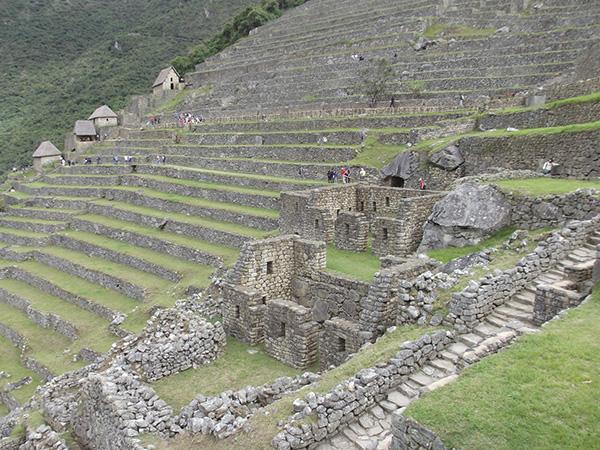 Terraços característicos de Machu Picchu