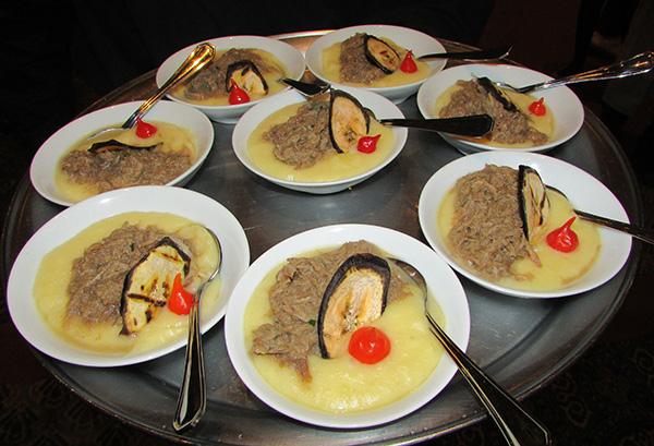 Moussseline de mandioca com barreado (Fotos Panorama do Turismo)