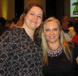 Karen e Andréa, à frente da iniciativa