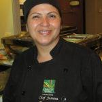 Chef Jussara, responsável pelos cardápios do hotel