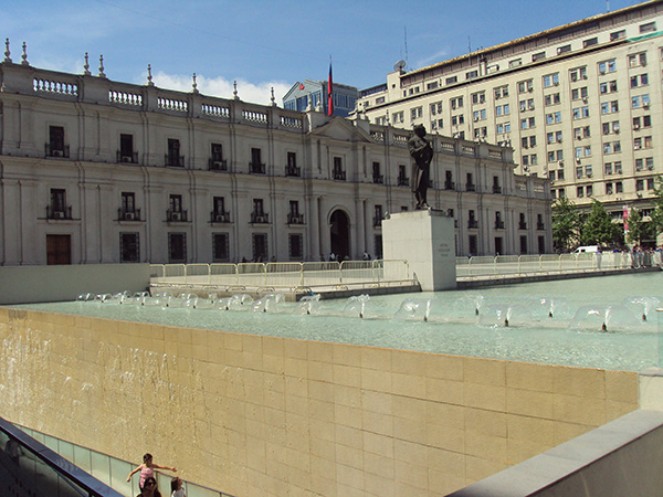 Palácio de la Moneda (Fotos Panorama do Turismo)