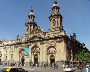 Catedral de Santiago. A edificação atual é de 1780
