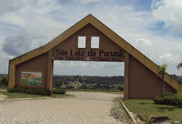 Portal de São Luiz do Purunã (Fotos Panorama do Turismo)