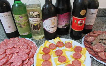 Vinho e polenta, atração em Bituruna