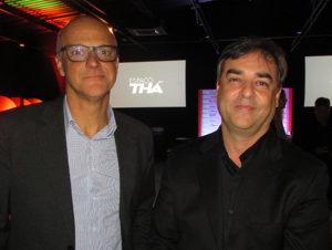 Arsênio e Marcelo, anfitriões da noite (Fotos Panorama do Turismo)