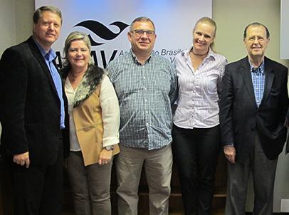 A partir da esquerda, Pedro, Vânia, Pedro Edu e Azevedo (Foto Kelly Sendecki   Flamma Comunicação)