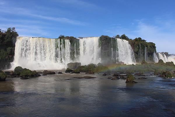 Vista parcial das Cataratas do Iguaçu (Foto Panorama do Turismo)