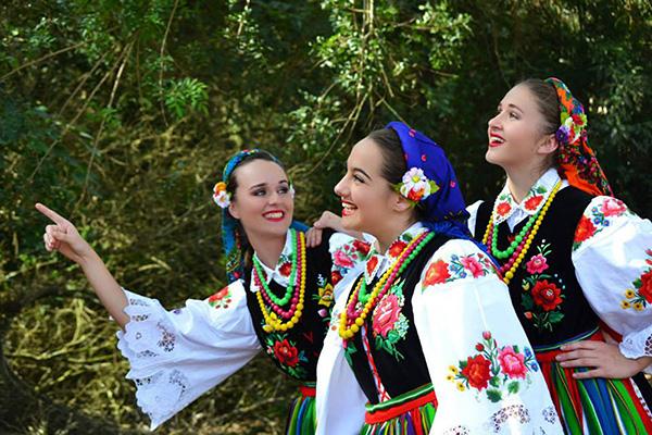 Cultura polonesa, na Polskafest (Foto Divulgação | Evidência Comunicação)