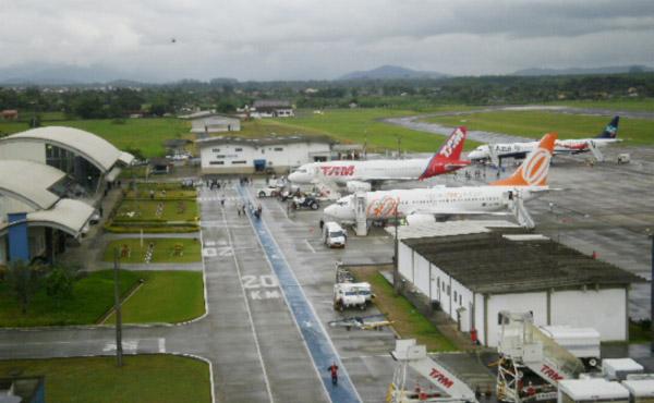 Coluna Volta ao Mundo por Nelci Seibel: Aeroporto de Joinville