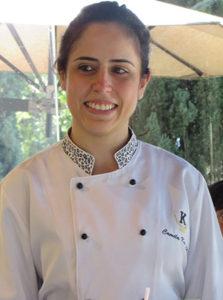 Chef Camila Kaminski, à frente dos cardápios
