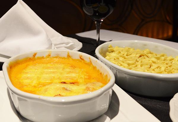 Camarões gratinados e fettuccine na manteiga (Foto Divulgação | TIPCcom)