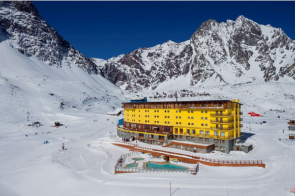 Coluna Volta ao Mundo por Nelci Seibel: Estação de esqui Portillo