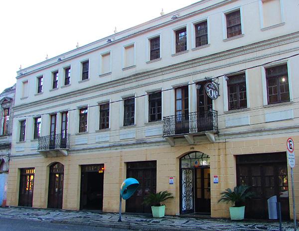 Roma Hostel, pioneiro em Curitiba (Foto Panorama do Turismo)