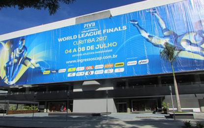 Mundial de vôlei em Curitiba