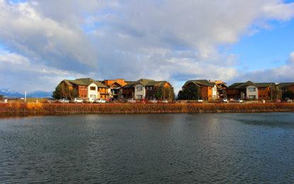 Resort debruçado sobre o Lago Nahuel Huapi