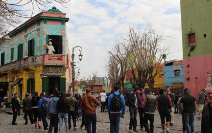 A rua temática de Buenos Aires
