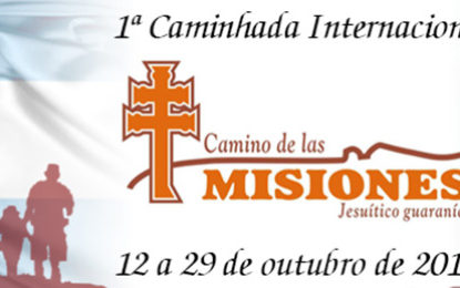 Caminhada inédita no circuito das Missões