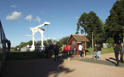Parque tem exposição fotográfica sobre a Europa