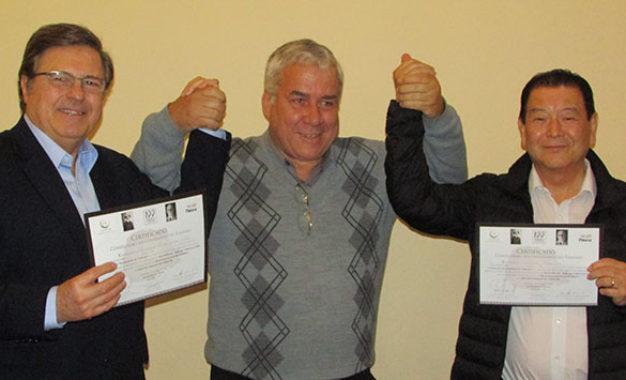 Dirigentes classistas recebem certificado do centenário