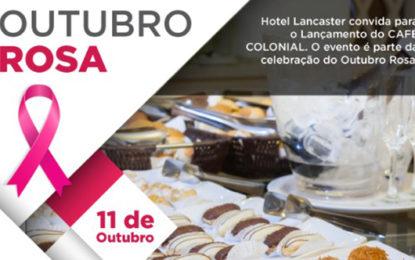 Hotel lança café da tarde em evento com palestras