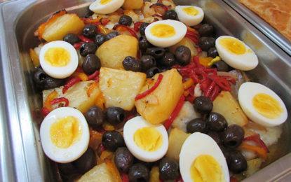 Menu especial e festival de Páscoa